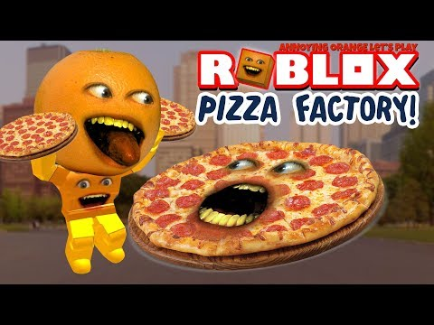 Roblox: PIZZA FACTORY TYCOON - Stealing Customers! 🍕🍕 [Annoying Orange Plays]