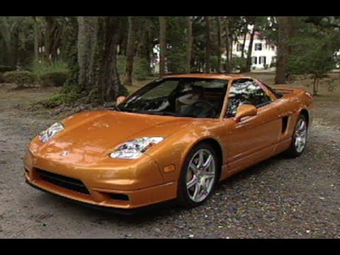 MotorWeek   Retro Review: 2002 Acura NSX