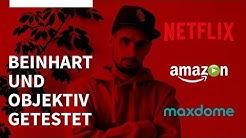 Netflix vs Amazon Prime Video vs Maxdome | Streaming Anbieter im Vergleich | Der große Test