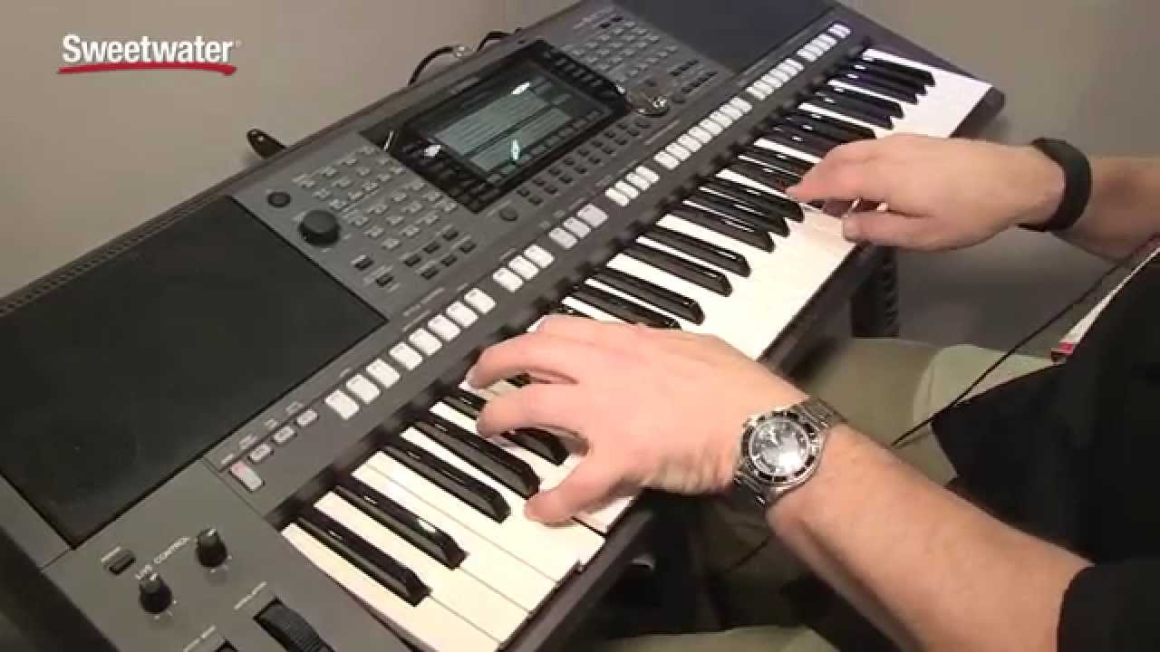 summer namm 2015 yamaha psr s970 arranger keyboard demo. Black Bedroom Furniture Sets. Home Design Ideas