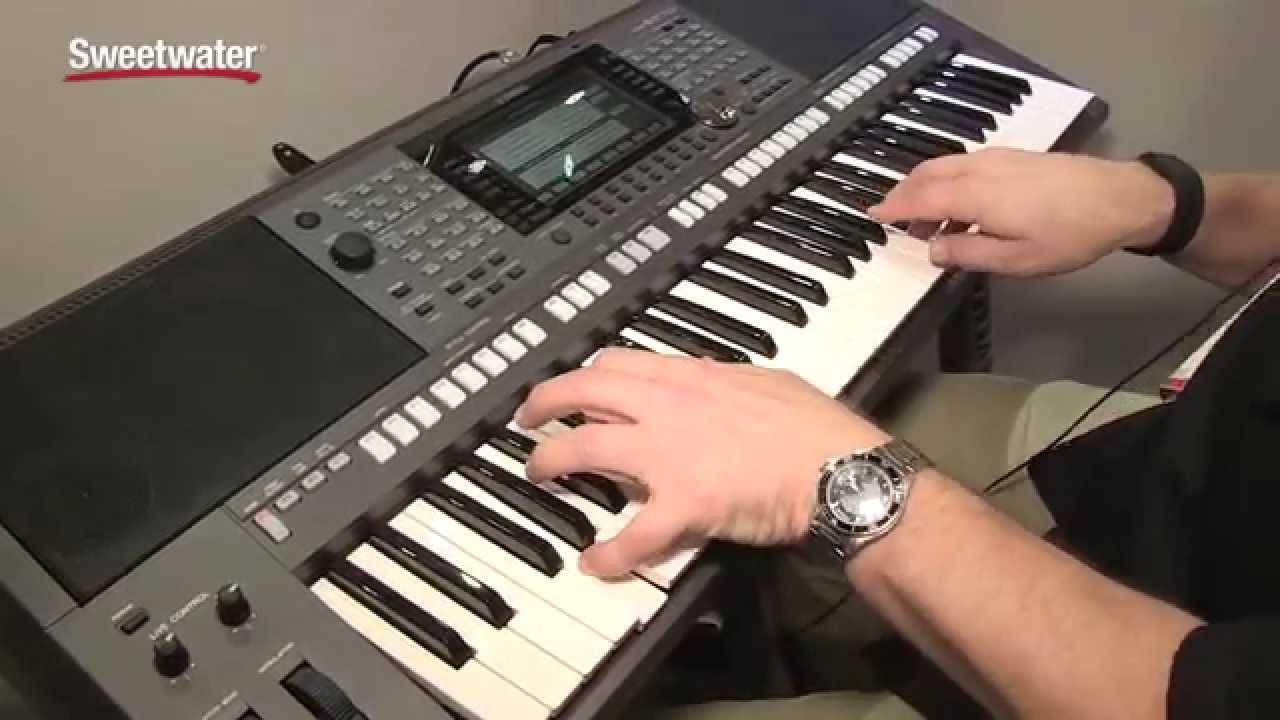 Summer namm 2015 yamaha psr s970 arranger keyboard demo for Yamaha a3000 keyboard