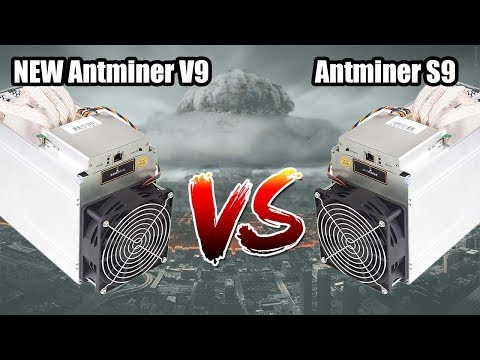 NEW ANTMINER V9 VS ANTMINER S9   IS IT WORTH BUYING!?
