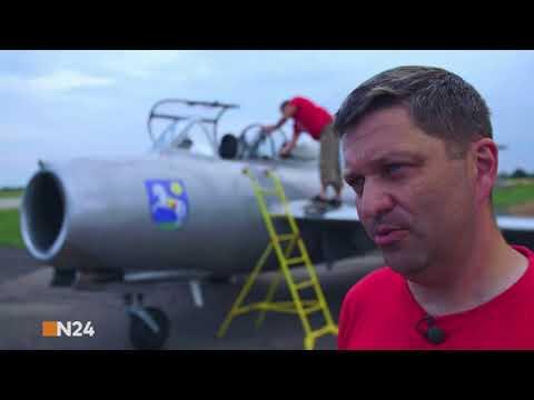 My Mig-15 flight in German television