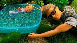 Пикник с Барби: Штеффи убежала от родителей. Игры Барби