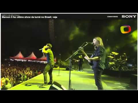 Maroon 5 - São Paulo, Brazil. 26/08/12