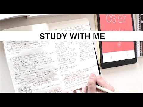 Study With Me Vlog  #1 - Architecture and Art History