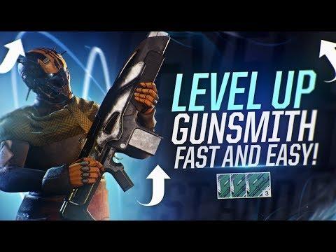 Destiny 2: Level Up Gunsmith Fast & Easy | Farming Gunsmith Packages!