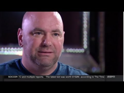 """DANA WHITE """"WE WANT CONOR MCGREGOR TO KNOCK MAYWEATHER OUT COLD"""" FULL ESPN INTERVIEW (AUG 20 2017)"""