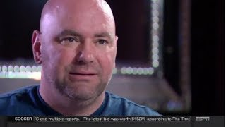 "DANA WHITE ""WE WANT CONOR MCGREGOR TO KNOCK MAYWEATHER OUT COLD"" FULL ESPN INTERVIEW (AUG 20 2017)"