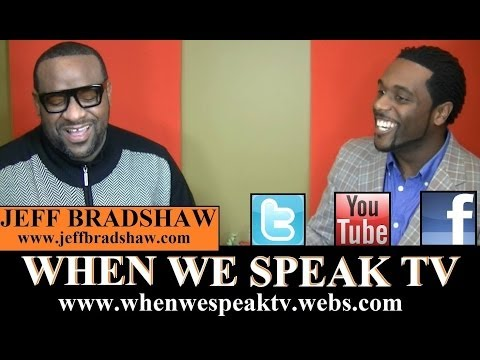 "Trombonist, Jeff Bradshaw aka ""Mr. Trombone"" on When We Speak"