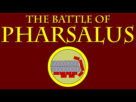 The Battle of Pharsalus (48 B.C.E.)