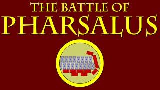 the battle of pharsalus 48 bce