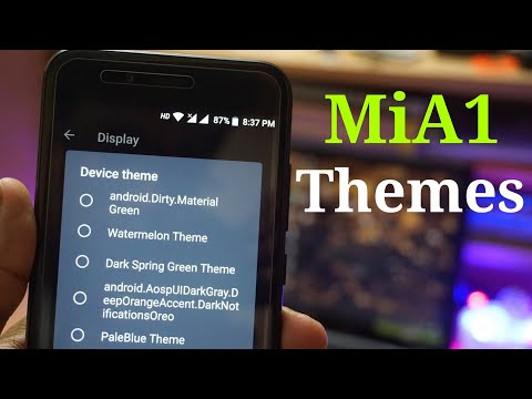 How to Install Themes in Xiaomi MiA1 - No Root - YouTube