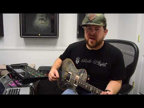 PRS Tremonti Baritone Demo- Ryan Fowler's Guitar Experience