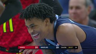 Vince Carter Fouls Ja Morant To Stop Him From Embarrassing Crossover Moves