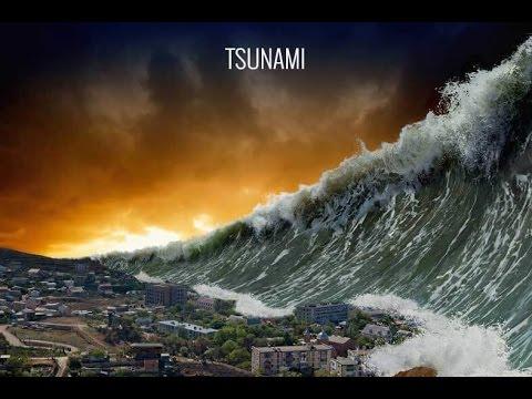 Tsunami uyarısı  için siren sesi çok ürpertçi.