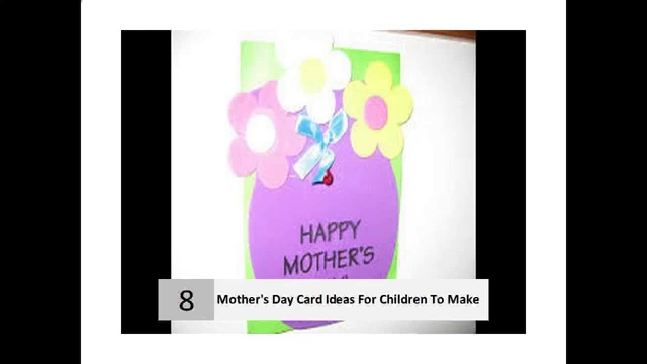 Mothers Day Cards Ideas For Children To Make Part - 31: 10 Easy Ideas For Motheru0027s Day Cards For Children To Make