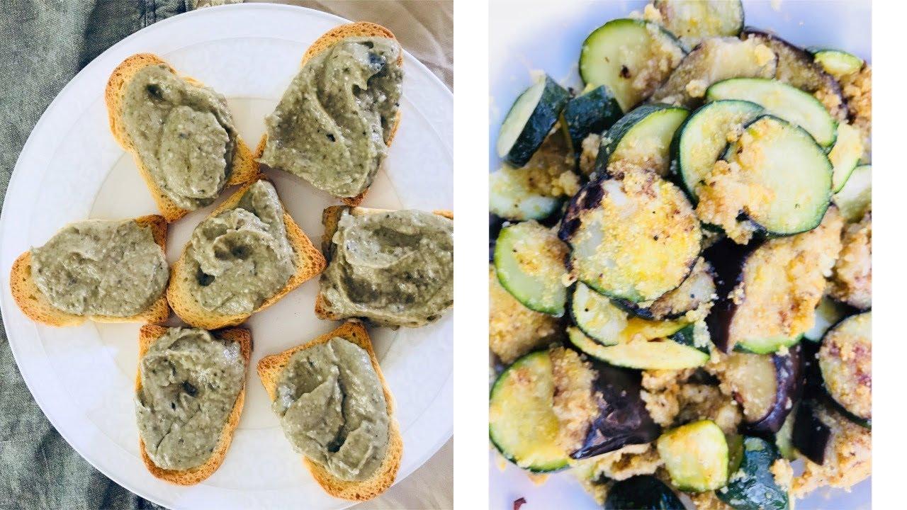 рецепт: овощи и панировочные сухари