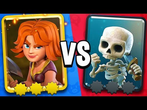 MAX STAR POINTS PRO Vs ZERO STAR POINT NOOB In Clash Royale!