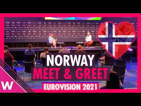 """Norway Press Conference: TIX """"Fallen Angel"""" @ Eurovision 2021"""