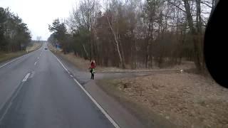 Девочки на трассе в Польше 20180314 11 04
