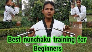 Best nunchaku training for Beginners step #1 Hindi