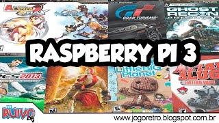 Raspberry Pi 3 (RetroPie 3.7 ) Testes com emulador de PSP / Playstation Portable (PPSSPP)