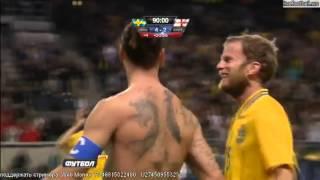zlatan ibrahimovic amazing bicycle goal sweden vs england 4 2 hd