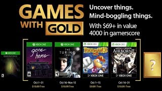 Xbox Games with Gold (October 2017)