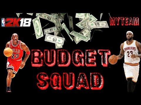 Ballin\u0027 on a BUDGET - NBA 2k18 MyTeam Budget Squad EP#3 - YouTube