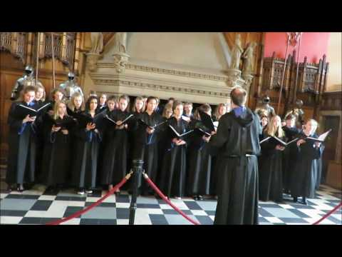 Edinburgh castle 03 juni 2017  Concert in the  Great hall Cantor Olav Morten