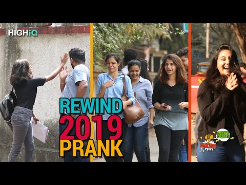 Rewind 2019 Prank | Raj Khanna  Boss Of Bakchod | Pranks In India | HighIQ