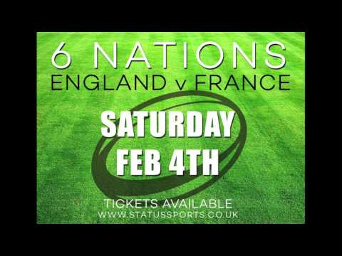 6 Nations | England Vs France Feb 4th 2017 | Ticket Only