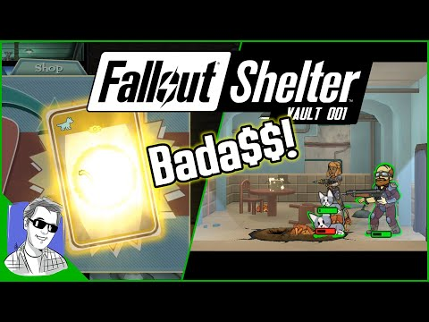 Fallout Shelter Vault 001 New Cats And Maximum Power