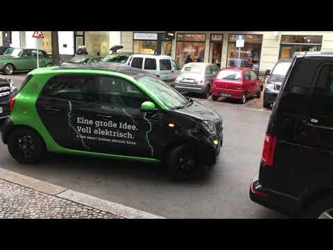 Smart ForFour ED electric Drive Probefahrt
