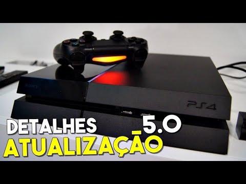 GRANDE NOVA ATUALIZAÇÃO 5.0 DO PS4 - ALGUNS DETALHES