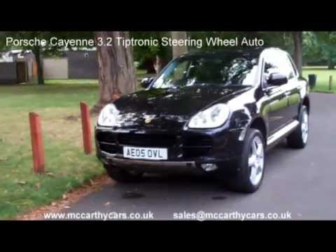 Used Porsche Cayenne 3.2 Tiptronic Steering Wheel Auto AE05 for sale Croydon McCarthy Cars Snow 4WD