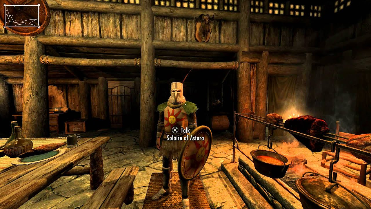 dark souls knight solaire of astora follower mod for