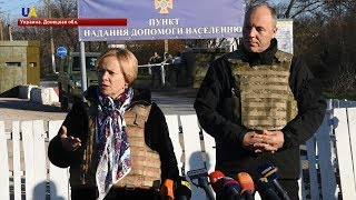 Парубий и глава Парламентской ассамблеи НАТО посетили Донбасс