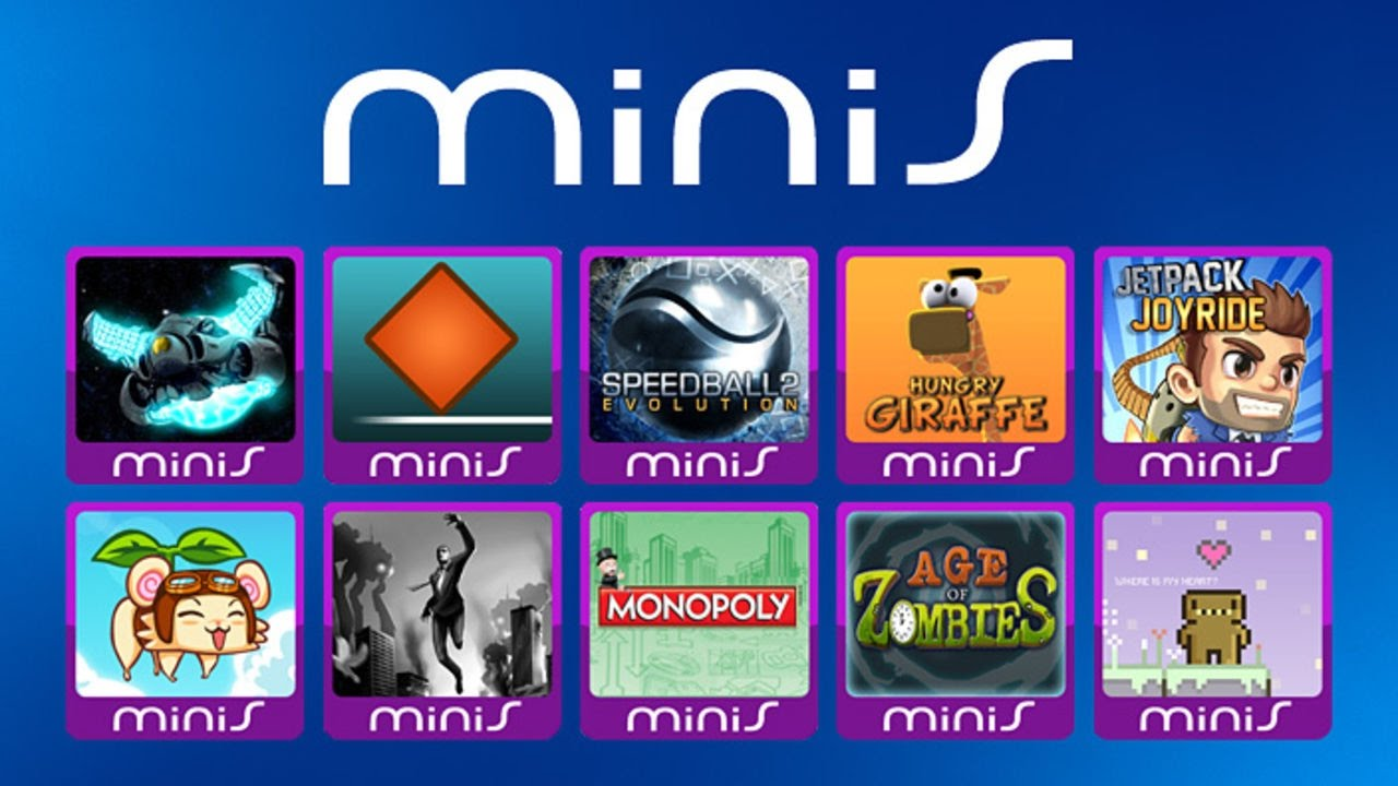 All playstation minis games every ps minis psp minis game in one.