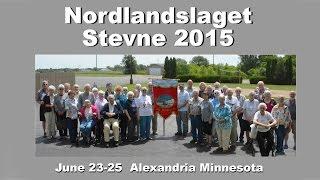 """Northern Norway Norwegian-Americans get together """"Stevne 2015"""""""