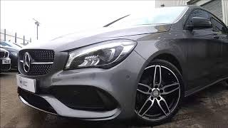 Mercedes CLA Class CLA200 D AMG LINE Finished In Mountain Grey At Rix Motor Company