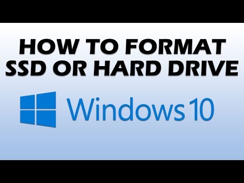How to Format SSD or Hard Drive in Windows 10