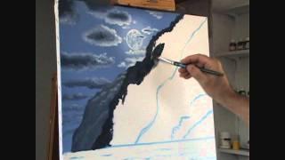 Видео 2 Часть 7 Как нарисовать пляж и горы, и лунный свет(Как нарисовать пляж и горы, и лунный свет пляж луна лунный свет горные лесные деревья вода волна отражение..., 2011-09-05T20:31:51.000Z)