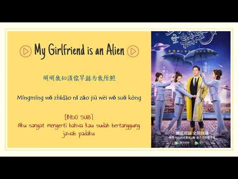 [INDO SUB] Li Zikai - Gravity Lyrics | My Girlfriend Is An Alien OST