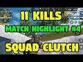 AMERICAN SNIPER-Rules of Survival 11 Kills Squad Gameplay Win! FIRST GAME BACK - Match Highlights #4