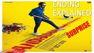 Andhadhun movie ending logically explained.