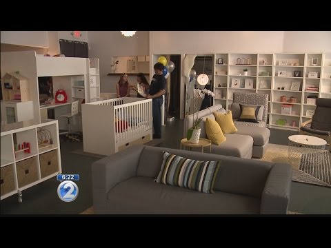 Shopping service opens showroom filled with popular IKEA furnishings