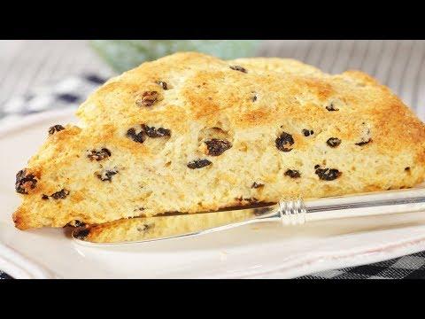 Cornmeal Scones Recipe Demonstration - Joyofbaking.com