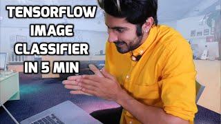 Bauen Sie ein TensorFlow Bild Klassifizierer in 5 Min